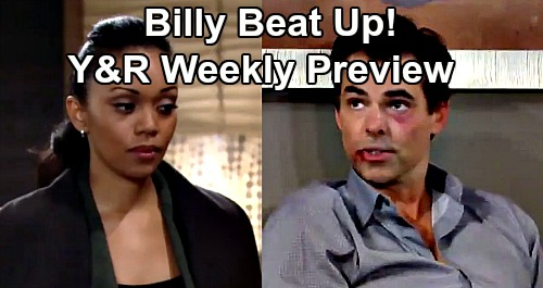 The Young and the Restless Spoilers: Week of January 27 Preview – Billy Beat Up, Attack Pulls Amanda Closer – Victoria Abandoned & Crushed