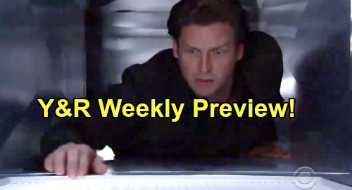 The Young and the Restless Spoilers: Week of November 11 Preview – Theo's Tempting Paris Proposal – Vicious Simon Must Be Stopped - Chance's Rescue