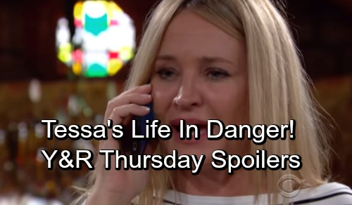 The Young and the Restless Spoilers: Thursday, September 13 – Devon Visits Lily – Tessa's Life In Danger – Rey on the Hot Seat
