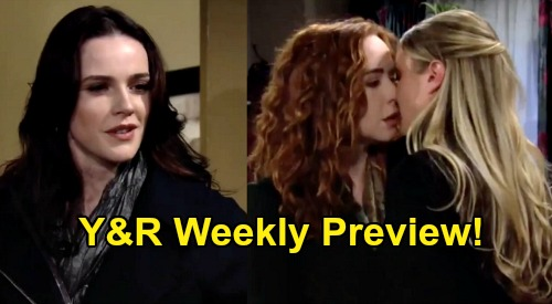 The Young and the Restless Spoilers: Week of March 2 Preview – Cheater Mariah's Life Is a Dumpster Fire – Abby & Chance Shower Steaminess