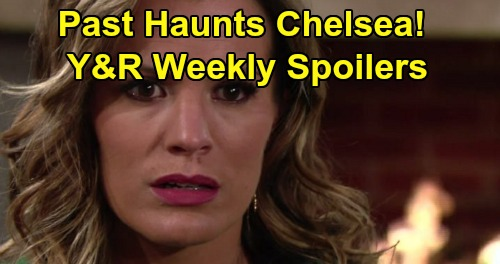 The Young and the Restless Spoilers: Week of October 28 – Chelsea's Past Haunts – Adam and Billy Showdown – Abbott Family Visitor