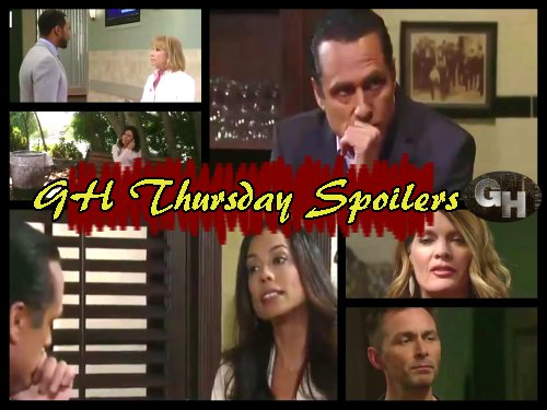 General Hospital Spoilers: Lonely Nina Gets Drunk - Finn And Griffin Scheme Against Brad - Carly Catches Sonny And Martina