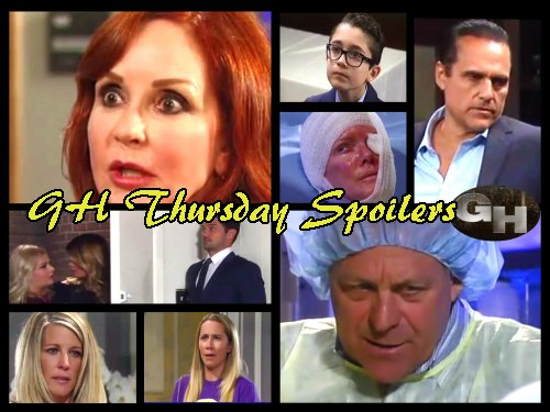 General Hospital Spoilers: Ava Fights Back - Spencer Wants Valentin Dead - Josslyn Rages at Carly - Nina Blackmails Amy