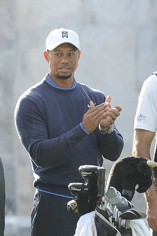 Tiger Woods' Kids Not Fans of Father
