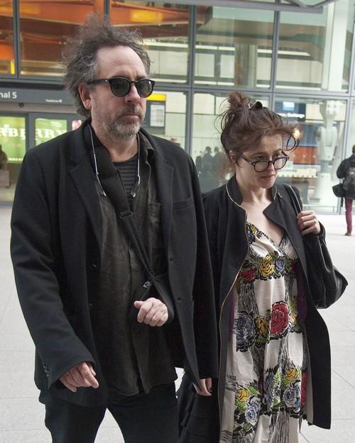 Tim Burton Seen Kissing Mystery Blonde In London, Cheating On Helena Bonham Carter?