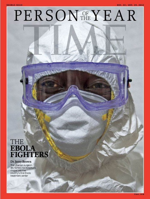 Time Magazine Person Of The Year 2014: The Ebola Fighters (PHOTOS)