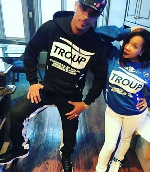 T.I. and Tiny Harris Announce Pregnancy On Instagram, Seventh Child On The Way
