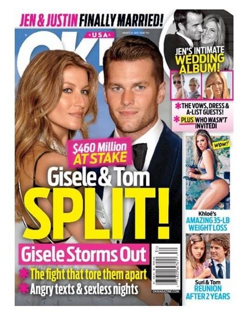 Tom Brady, Gisele Bundchen Divorce: $460 Million Break-Up as Supermodel Leaves QB, Moves Kids To Brazil in Custody Battle
