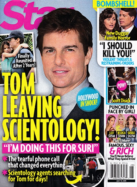 Tom Cruise Prepares To Leave Scientology for Suri Cruise: Must Abandon Religion To Have Relationship With Daughter! (PHOTO)