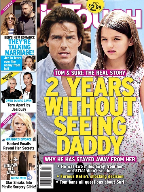 Tom Cruise Snubs Daughter Suri on NYC Visit Following Two-Year Abandonment: Scientology Demands Absent Dad Role?