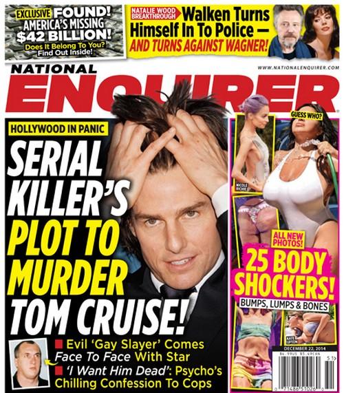 "Tom Cruise: Serial Killer's Murder Plot Targeted Star - Colin Ireland, The ""Gay Slayer"" (PHOTO)"