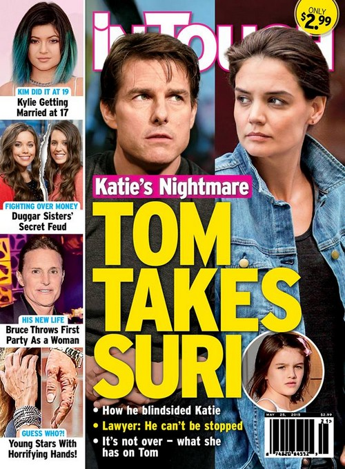 Katie Holmes Fears Tom Cruise Stealing Suri Cruise - Won't Give Daughter Back, Messy Custody Battle Ensues?