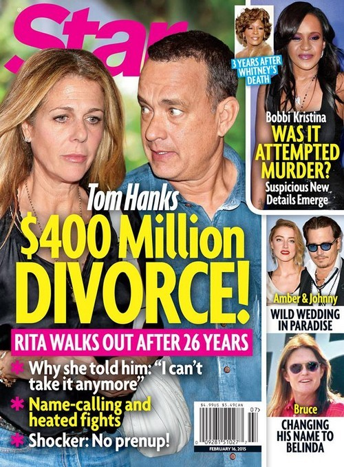 Tom Hanks and Rita Wilson Divorce: Battle Over $400 Million Split