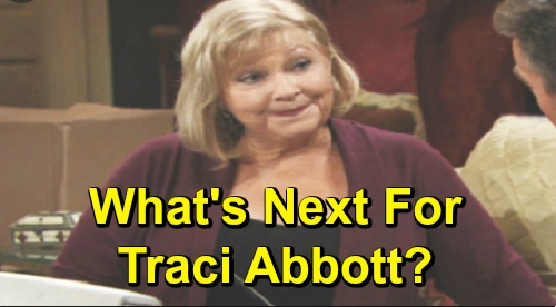 The Young and the Restless Spoilers: Traci Abbott, See What's Next – Beth Maitland Reveals the One Thing Her Character Will Never Do