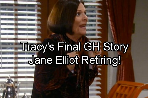 General Hospital Spoilers: Jane Elliot Exits GH – Final Tracy Quartermaine Storyline Revealed