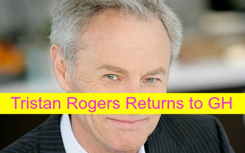 General Hospital (GH) Spoilers: Tristan Rogers Returns As Robert Scorpio – Exiting The Young and the Restless?