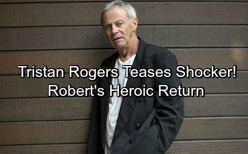General Hospital Spoilers: Tristan Rogers Reveals Robert's Heroic Return – Teases Major Nurses Ball Shocker
