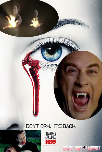 New 'True Blood' Season 5 Trailer: Psychopathic Vampire Russell Edgington Is HUNGRY!