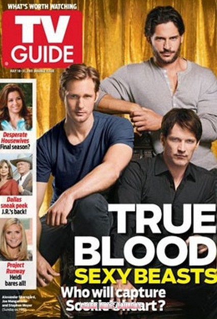 The Hunky Men of True Blood Cover TV Guide - Photo