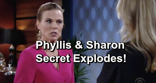 The Young and the Restless Spoilers: Phyllis and Sharon's Secret Explodes, Nick Learns the Whole Truth
