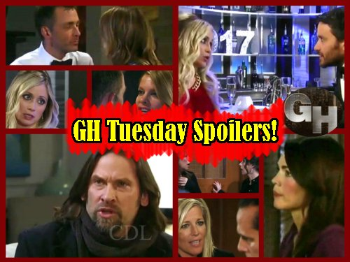 General Hospital Spoilers: Carly Leaves Sonny Heartbroken - Nina and Valentin Sexy Honeymoon - Sam Confronts Parents Over Rudge