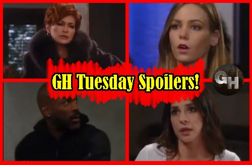 General Hospital Spoilers:Ava Fears Sam Knows Morgan Drug Truth - Jason and Curtis Fiery Danger - Carly and Nelle Keep Secrets