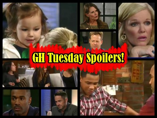 General Hospital Spoilers: Nelle Rats Out Carly Cheating To Sonny – TJ Returns - Alexis Dinner Disaster - Lucy Taunts Scotty