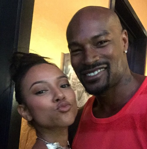 Chris Brown Threatens to Cripple Model Tyson Beckford for Hanging Out With Karrueche Tran