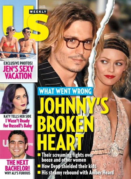 Us Weekly: What Went Wrong Between Johnny Depp And Vanessa Paradis 0627
