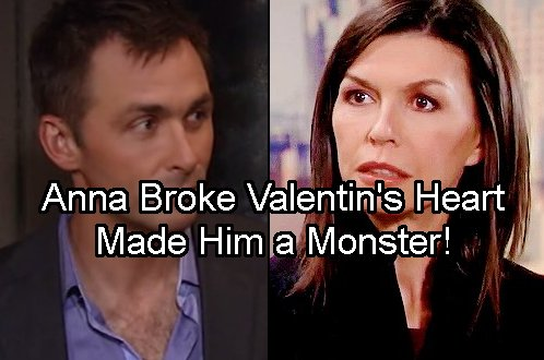 General Hospital Spoilers: Anna Broke Valentin's Heart - Made Him a Murderous Monster