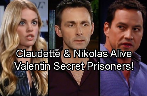 General Hospital Spoilers: Nikolas and Claudette Captive On Cassadine Island – Valentin's Hostages Revealed