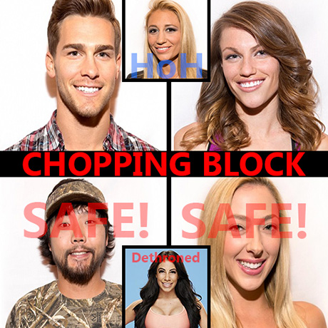 Big Brother 17 Spoilers: Week 5 Battle Of The Block Comp Results - Becky & Clay Stay On Chopping Block, Vanessa Reigning HoH!