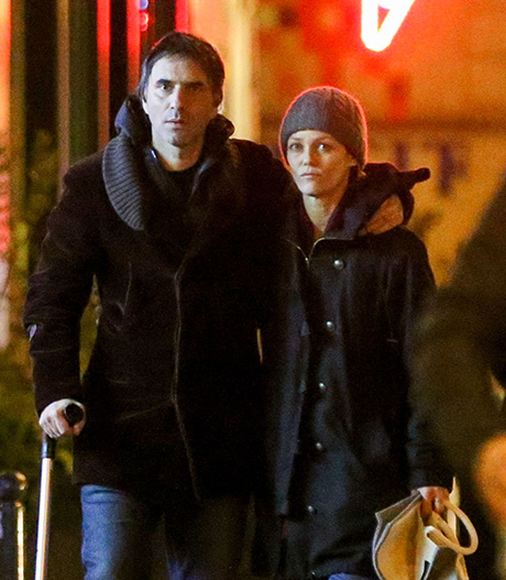 Vanessa Paradis Strolls Paris Streets With Boyfriend Samuel Benchetrit: Johnny Depp Romance Forgotten, Couple In Love? (PHOTOS)