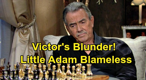 The Young and the Restless Spoilers: Victor Regrets AJ Reveal, Nikki Stands Strong - Little Adam Blameless