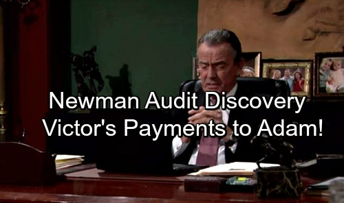 The Young and the Restless Spoilers: Newman Audit Finds Victor's Buried Secrets, Payments To Living Adam Newman