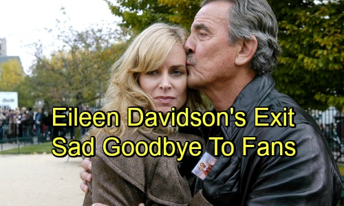 The Young and the Restless Spoilers: Eileen Davidson Shares Heartfelt Departure Message – Y&R Fans Brace for Ashley's Tough Exit