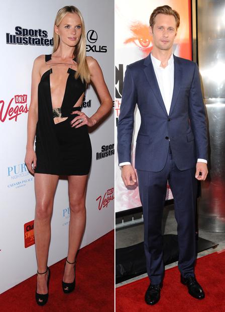 New Couple Alert: Alexander Skarsgard and Victoria's Secret Model Anne Vyalitsyna