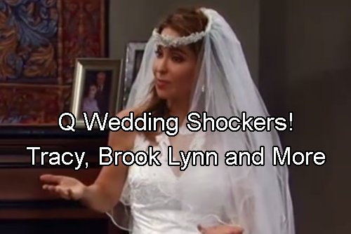 General Hospital Spoilers: Tracy and Brooklyn Return for Ned and Olivia Wedding - Other Q Shockers Coming