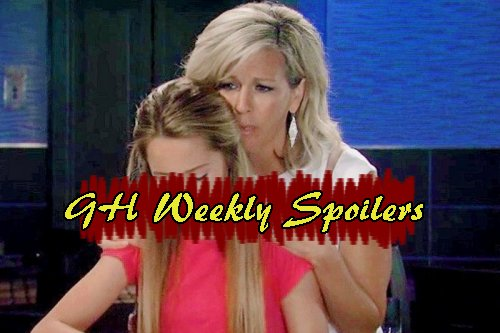 General Hospital Spoilers: Week of April 24 - Carly Rages at Sonny - Nina Findss a Spy - Tracy Acts Out - Michael Close to Nelle