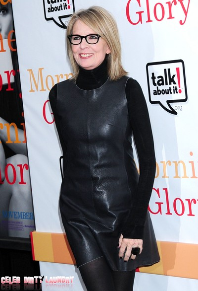 Diane Keaton Was Bulimic Because Woody Allen Was 'A Cockroach She Couldn't Kill'