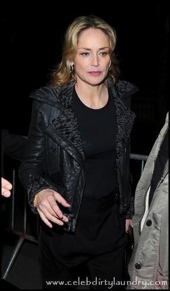 Sharon Stone Threatened By Stalker Bradley Gooden - Obtains Restraining Order