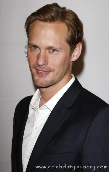Do You Want To See True Blood's Alexander Skarsgård In Pink Spandex?