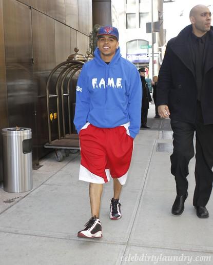 Chris Brown Is Not A Good Neighbor