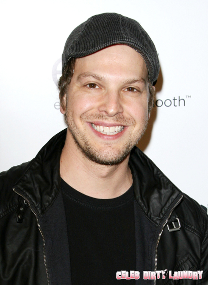 UPDATE: Gavin DeGraw Ordered To Take Some Time Off