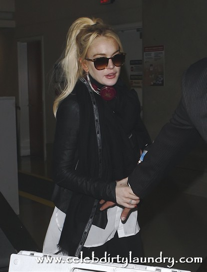 Lindsay Lohan Prepares To Sign For Her Role In New 'John Gotti' Film