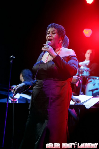 Aretha Franklin Fractured Her Toe