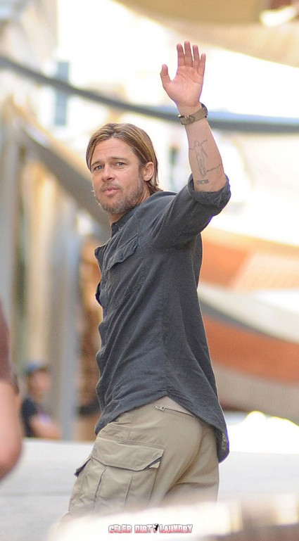 Brad Pitt Trying To Hook Up With Jennifer Aniston?