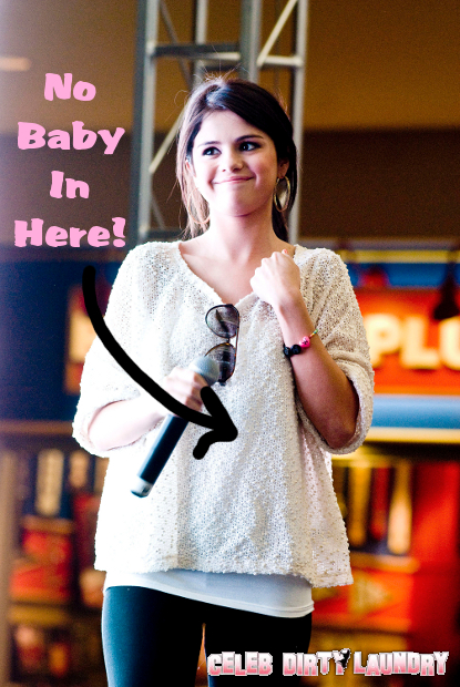 Selena Gomez Isn't Pregnant -- End Your Suspicions!