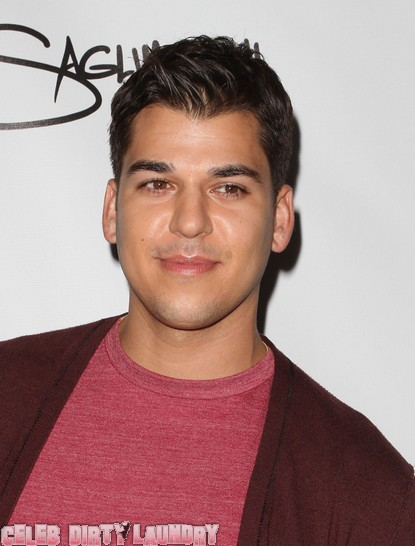 Rob Kardashian 'Forced' To Do 'Dancing With The Stars'?