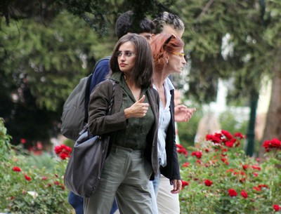 Penelope Cruz Films Scenes For Her New Movie In Italy and Bosnia Alongside Emile Hirsch